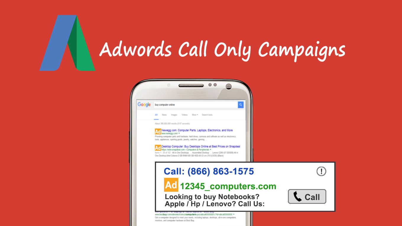 Power your Adwords Call Only Campaigns with AvidTrak Call Tracking