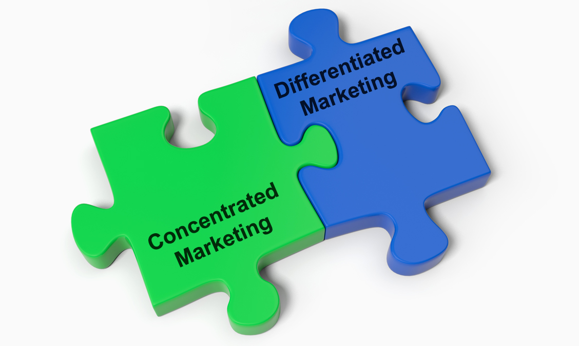 Concentrated or Differentiated Marketing